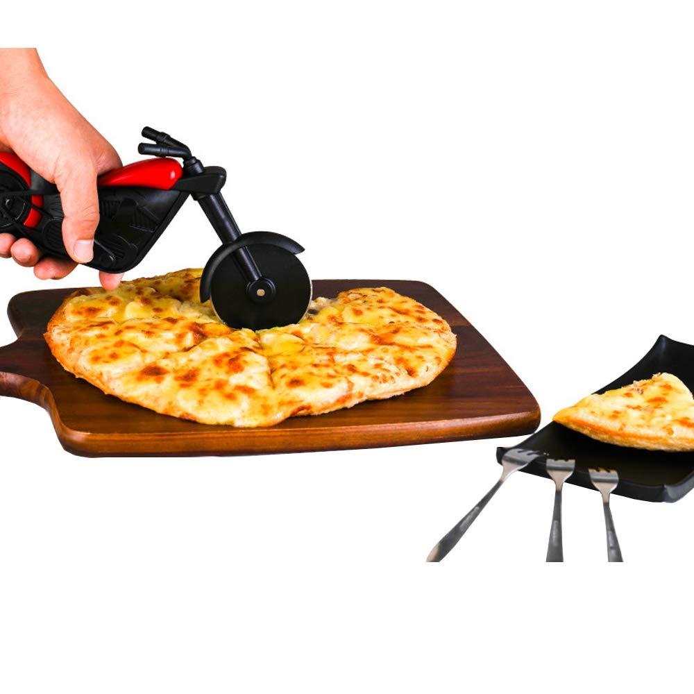 Compra shuny-Cuchillo de Pizza de Motocicleta Exquisito, Cuchillo ...