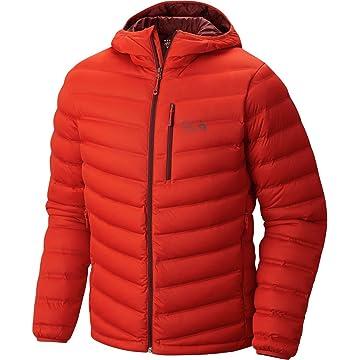 Mountain Hardwear StretchDown Hooded Jacket - Men's Thunder Grey 2X-Large