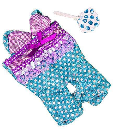 Shining Costume Bear (Mermaid Costume Outfit Fits Most 8
