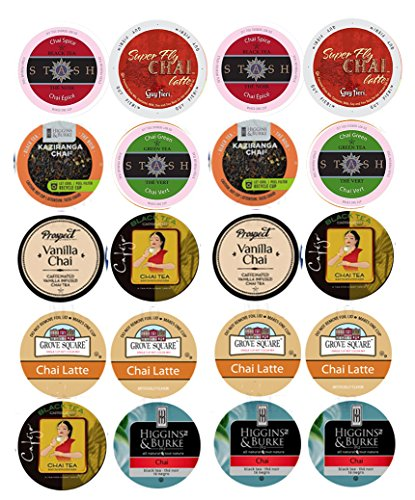 Sampler delicious varieties Spiced Vanilla