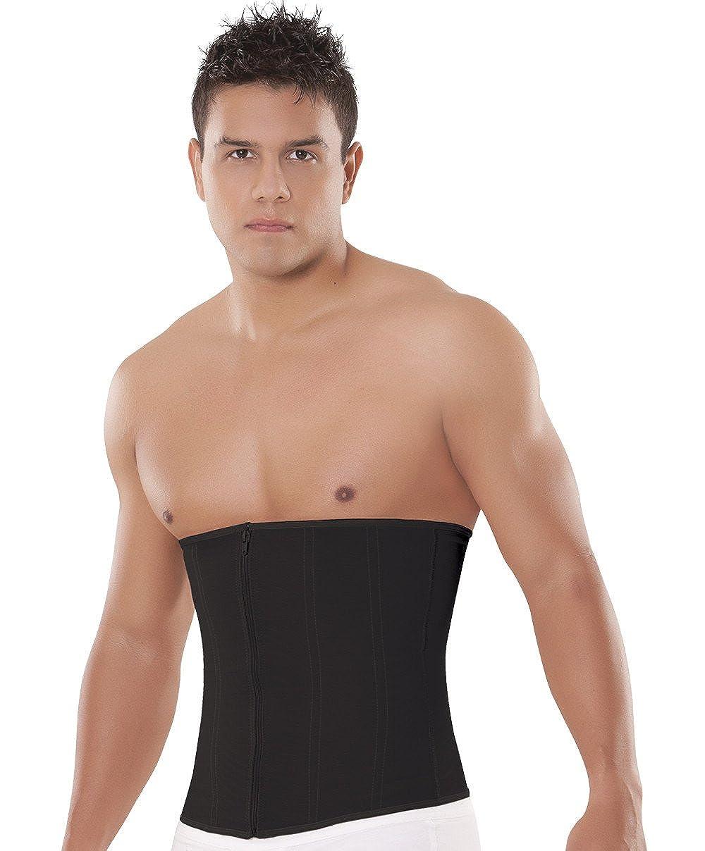 403fda33d10f6 Amazon.com  Equilibrium Firm Compression Girdle Waist Trainer for Men - Faja  Colombiana C4330  Clothing