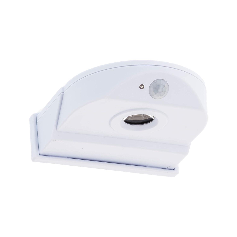 SEBSON LED Aussenleuchte mit Bewegungsmelder, batteriebetrieben, ohne Bohren