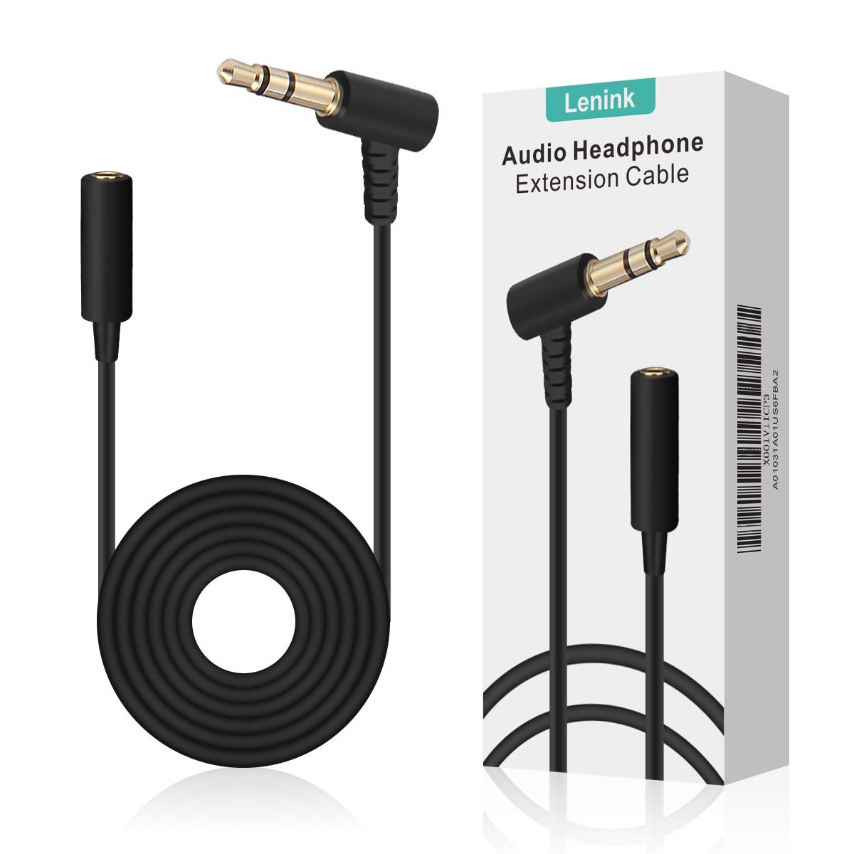 Lenink Replacement Cable,Audio Headphone Extension Cable Cord Compatible with Bose On-Ear OE Headphones,Black