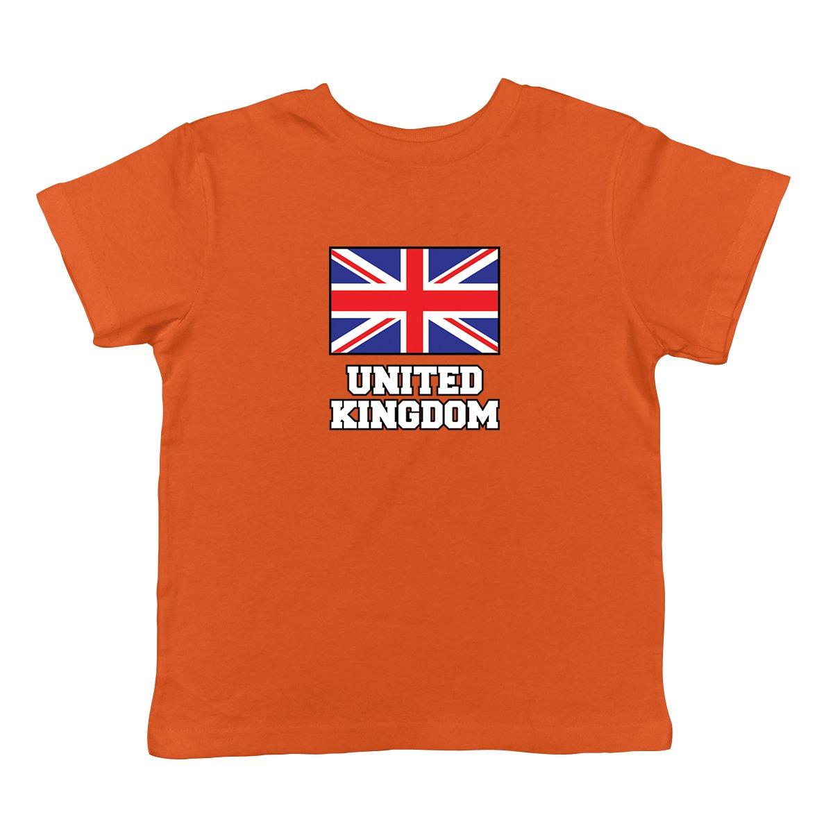 SpiritForged Apparel United Kingdom Flag Infant T-Shirt
