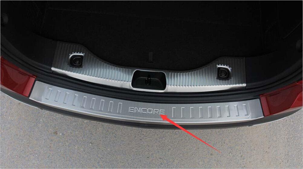 Salusy Rear Bumper Sill Plate Guard Cover Plate For Buick Encore 2013-2015