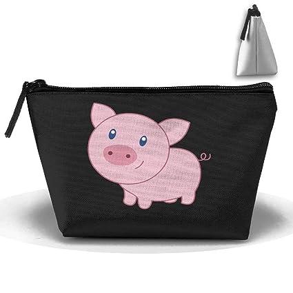 Cute Smile Pig Oxford Cloth Wash Bolsas de Maquillaje Aseo ...