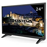Televisori 24 Pollici. TV Led Full HD TD Systems K24DLM7F, HDMI, VGA, USB lettore e registratore.