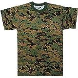 Rothco T-Shirt/Woodland Digital Camo