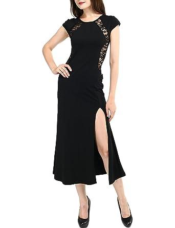 7443786174205 披露宴ドレス・パーティードレス・結婚式ドレス黒いホルターネックドレスクールビューティーマキシボディコン
