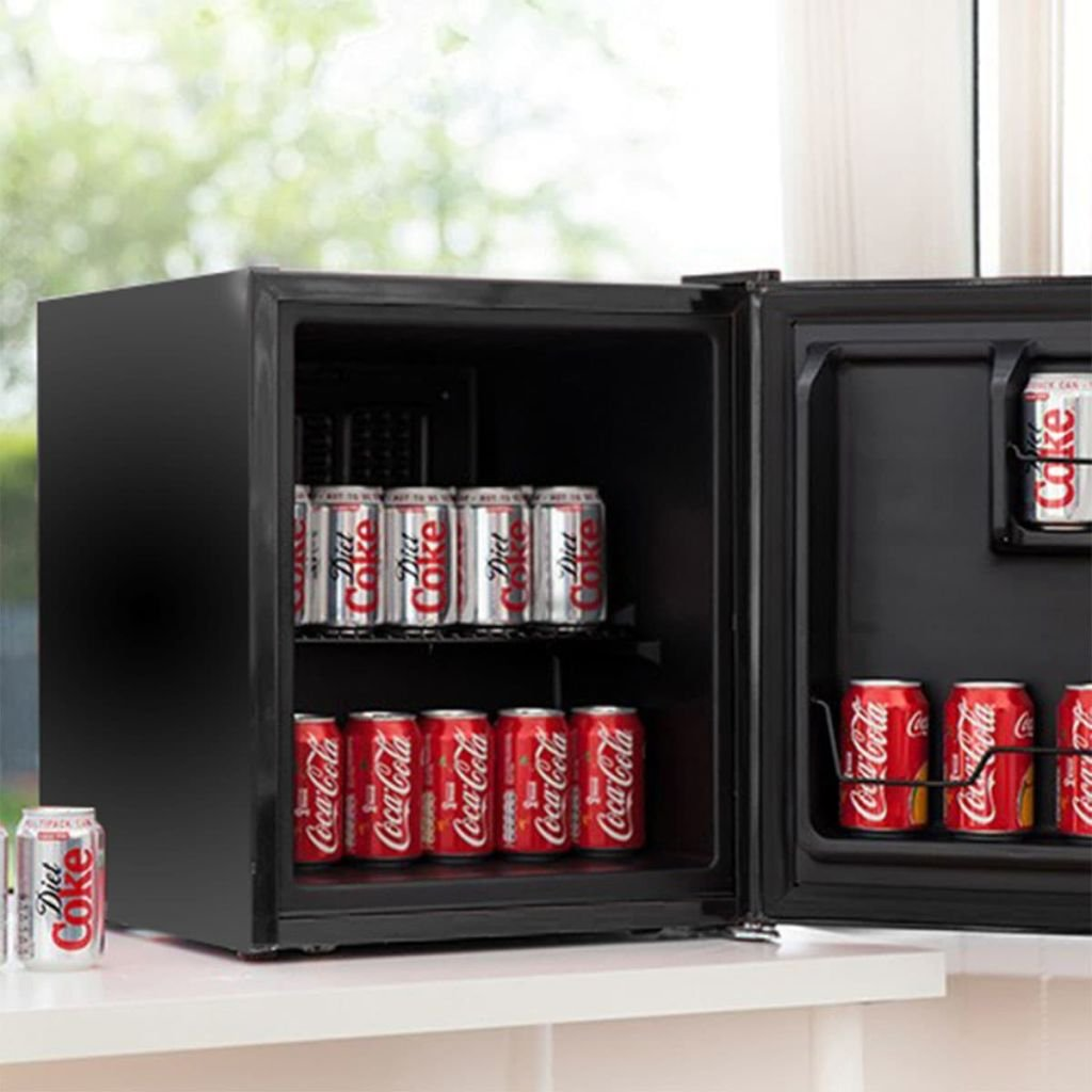 Husky Minikühlschrank Kühlbox Minibar Kühlschrank EEK A+ 42,9 L KK50 ...