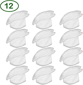 YUEFENG Vacuum Replacement Filters Compatible with Swiffer Sweep and Vac. Compare to Part #99196 (Pack of 12)