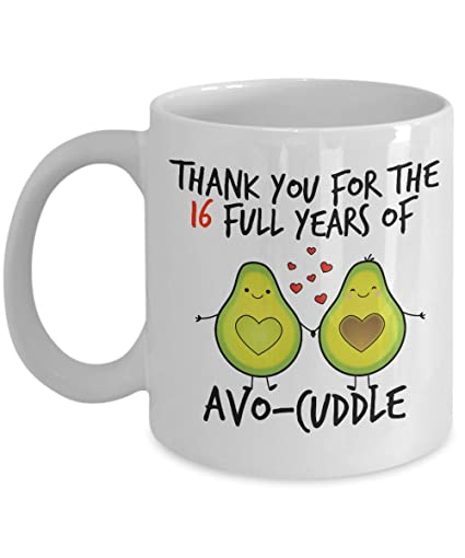 Amazon 16th Wedding Anniversary Gifts For Him Avocuddle 16