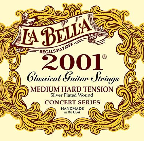 LaBella 2001MH Classic Med.Hard Tension from La Bella