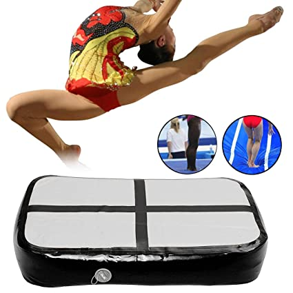 Amazon.com: 1x0.6x0.2m Inflatable Gymnastics Mat Airtrack ...