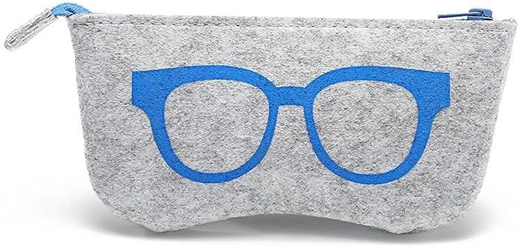 JUTTA Funda de Gafas para Hombre y Mujer – Funda Caja Gafas en 5 ...