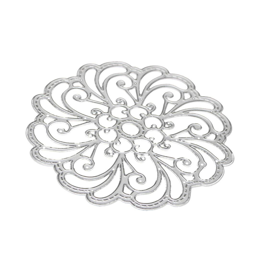 Cutting Dies for Card Making, Staron Metal Cutting Dies Stencil Flower Hearts Happy Birthday Cut Die Template Mould for DIY Scrapbook Embossing Album Paper Card Craft (R) by Staron (Image #6)
