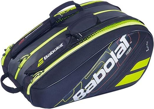 Babolat PALETERO RH Team Padel Negro Verde: Amazon.es: Deportes y ...