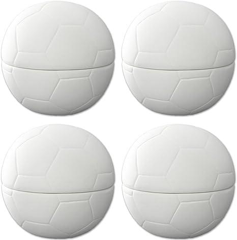 Caja de balón de fútbol – Juego de 4 – Host Tu Propio cerámica ...