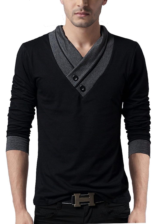 Black t shirt amazon - Seven Rocks Men S V Neck Cotton Tshirt V Neck Tshirt Amazon In Clothing Accessories