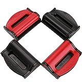 Trade-CaptaiN Car Seat Belt Clip- Seatbelt Adjuster Comfort Universal Auto Shoulder Neck Strap Positioner Clips(4Pack)