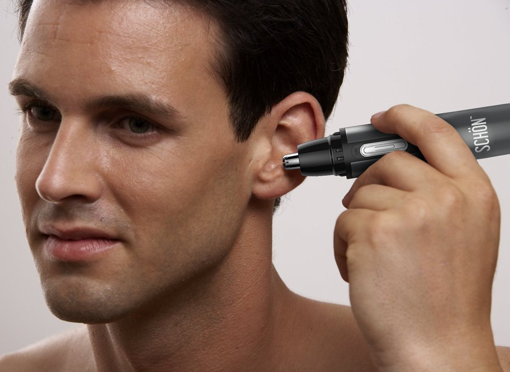 Best Rechargeable Nose Hair Trimmer -- Premium Quality Stainless Steel Won't Break! Lifetime Warranty