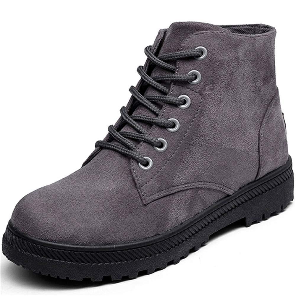 DecoStain Women's Fashion Winter Soft Short Plush Boots Classic Retro Keep Warm Durable Shoes Platform Snow Boots