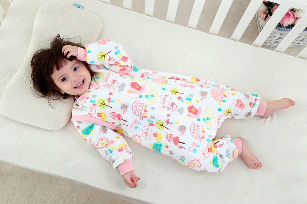Amazon.com : G Abigale Fairy 100% Organic Cotton Lovely Monkey Baby Sleeping Rack Bag (L, Pink) : Baby