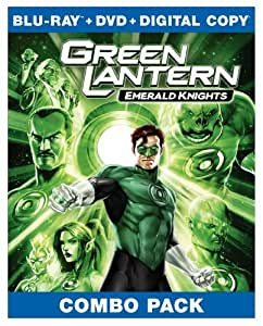 Green Lantern: Emerald Knights (Amazon Exclusive Limited Edition with Litho Cel) [Blu-ray]