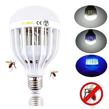 Bonlux LED Bug Zapper Light Bulb Medium Screw E26 Base 120V 10W Zap Wasp Bug  Mosquito