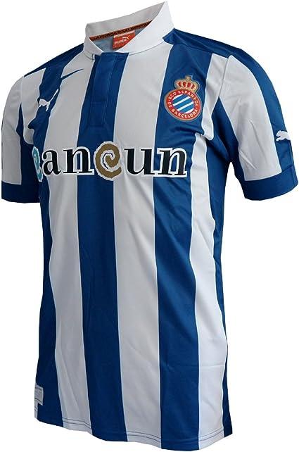 Puma 2012-13 Espanyol Home Football Shirt: Amazon.es: Ropa y ...