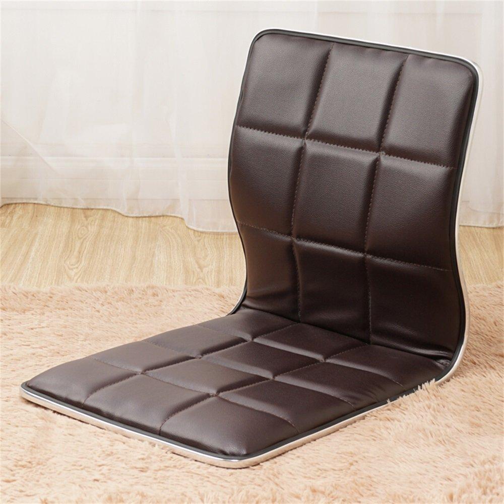 ベンチ 床の椅子怠惰なソファ和風ベントウッドシングルベッドの義理のない寮コンピュータ背もたれの椅子 (A++) (色 : ブラウン ぶらうん) B07DHHLH5P ブラウン ぶらうん ブラウン ぶらうん