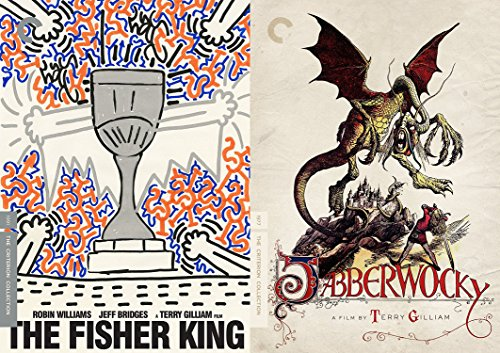 Terry Gilliam Criterion Collection - The Fisher King & Jabberwocky 2-Movie DVD Bundle