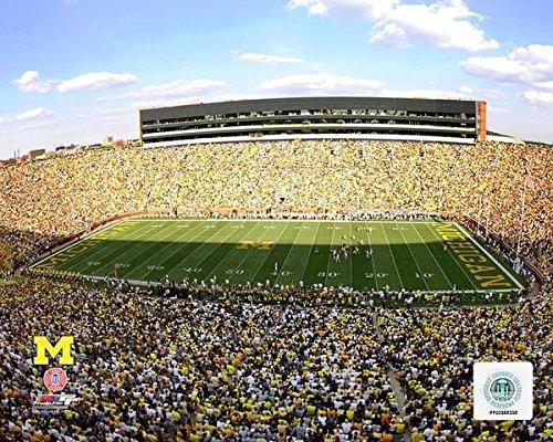Michigan Wolverines Stadium Photo (Size: 8 x 10) Photo File