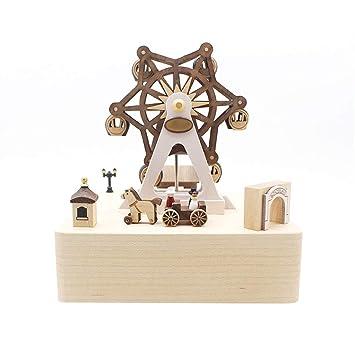 Musikbox Hölzerne Spieluhr Eine Kleine Spieluhr Mit