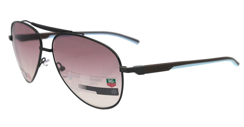 Amazon.com: Tag Heuer TH 0881 – Gafas de sol azul 115 ...