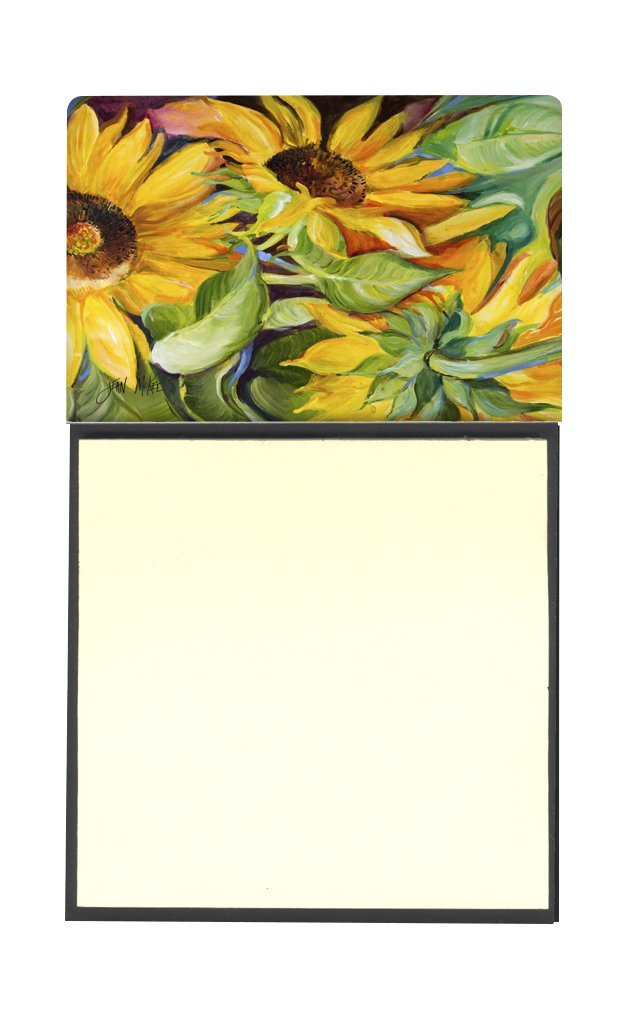 Caroline's Treasures Sunflowers Sticky Note Holder, 3.25 by 5.5'', Multicolor by Caroline's Treasures
