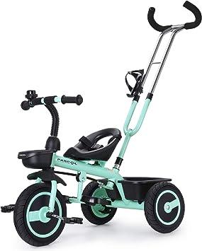 Fascol Triciclo Bebé con Barra Telescópica Extraíble Smart ...