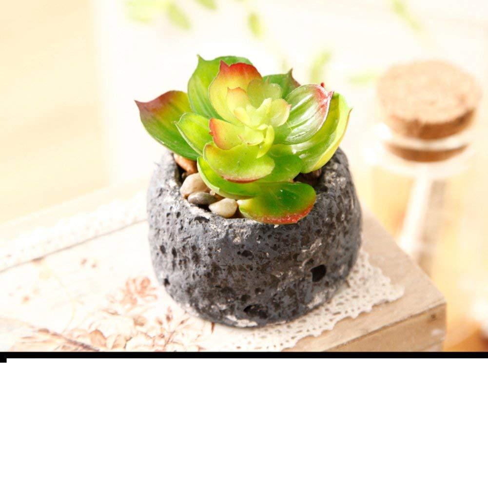 Beau LIUYU Kit De Fleurs Artificielles Pastorales/Pots à Fleurs Mini Décoration/ Décoration Souple De Bureau S,S Accessoires ...