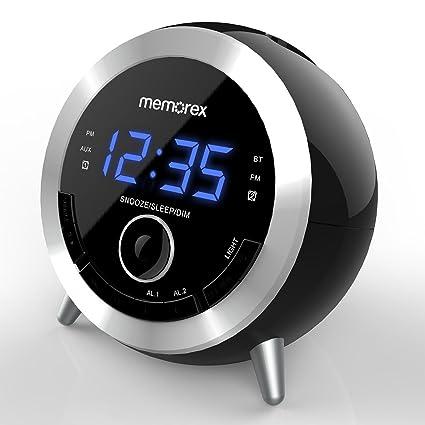 amazon com alarm clock radio memorex 10 in 1 clock radio digital rh amazon com