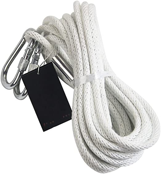30M Cord/ón de Supervivencia Paracord Cuerda Trenzada Cuerdas Paraca/ídas para Camping Senderismo Escalada