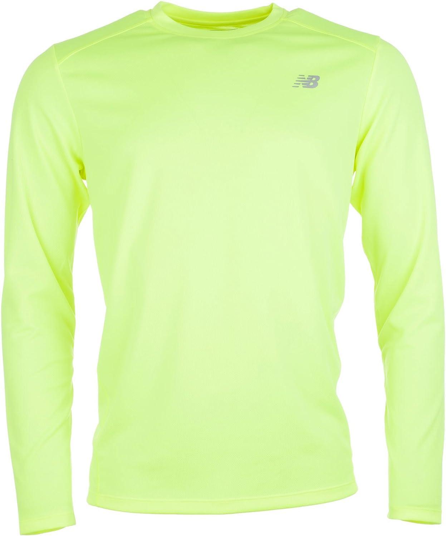 New Balance: camiseta de correr Go 2 LS para hombre (amarilla): Amazon.es: Ropa y accesorios