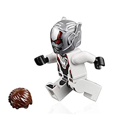 LEGO Marvel Avengers Endgame MiniFigure - Ant-Man (with Hair Piece) Set 76124: Toys & Games