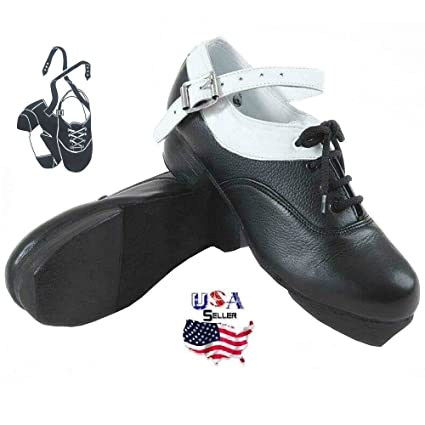 380d9514497b Amazon.com   MEDUSA ENTERPRISES LLC Irish Jig Hard Heavy Shoes White ...