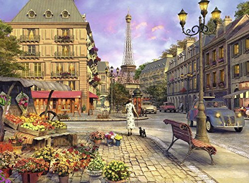 Ravensburger an Evening Walk - Paris Jigsaw Puzzle (500 Piece)