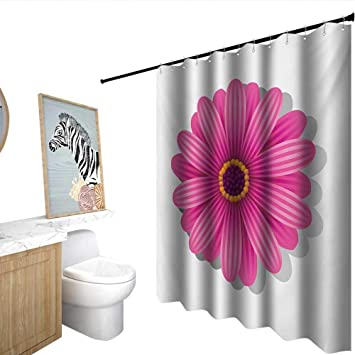 Pink theme cool bar Dessert Table Orange And Pink Polyester Fabric Shower Curtain Spring Season Theme With Blossoming Gerbera Daisy Illustration Shower Amazoncom Amazoncom Orange And Pink Polyester Fabric Shower Curtain Spring