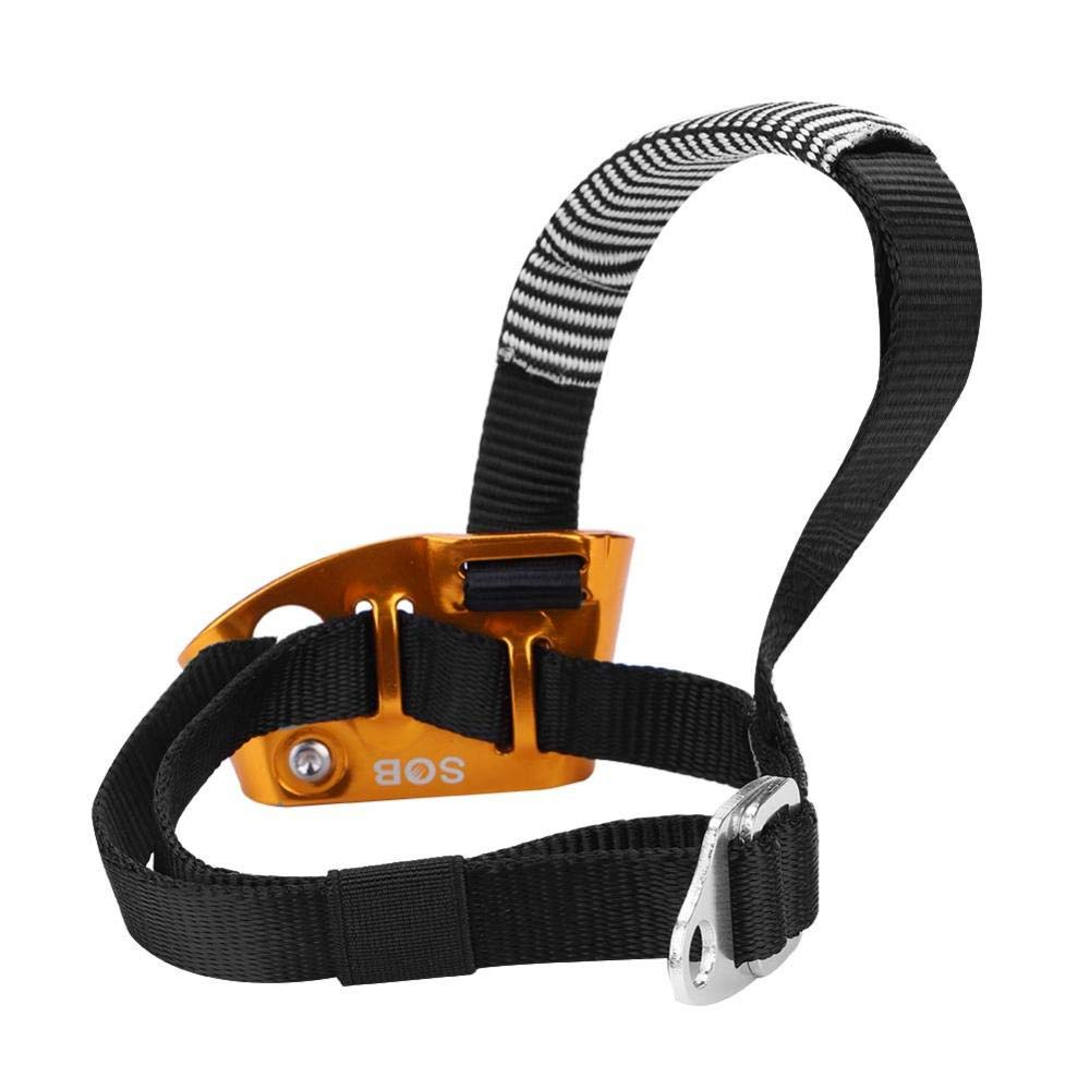 Right Leg Fire Rescue or Engineering Protection. Rock Climbing Tbest Foot Ascender,Right//Left Foot Ascender Riser for Rock Climbing Mountaineering Equipment for Mountaineering