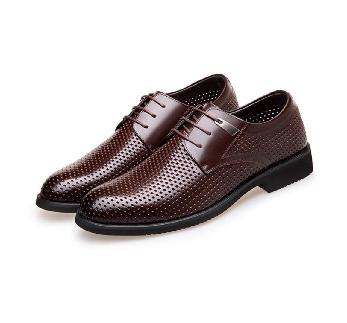 WSK Männer Schuhe Leder Hohl Schuhe Schuhe Schuhe Derby Gurt atmungsaktive Sandalen Herrenmode Spitze Business-Anzug Herrenschuhe 5273b6