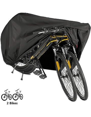 6957a8011e9 Funda Bicicleta, EMIUP Nylón 190T Anti Polvo Resistente al Agua a Prueba de  UV Cubierta