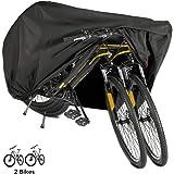 Beeway 190T Nylon Waterproof Bicycle Cover Anti Dust Bike Cover for 2 Bikes