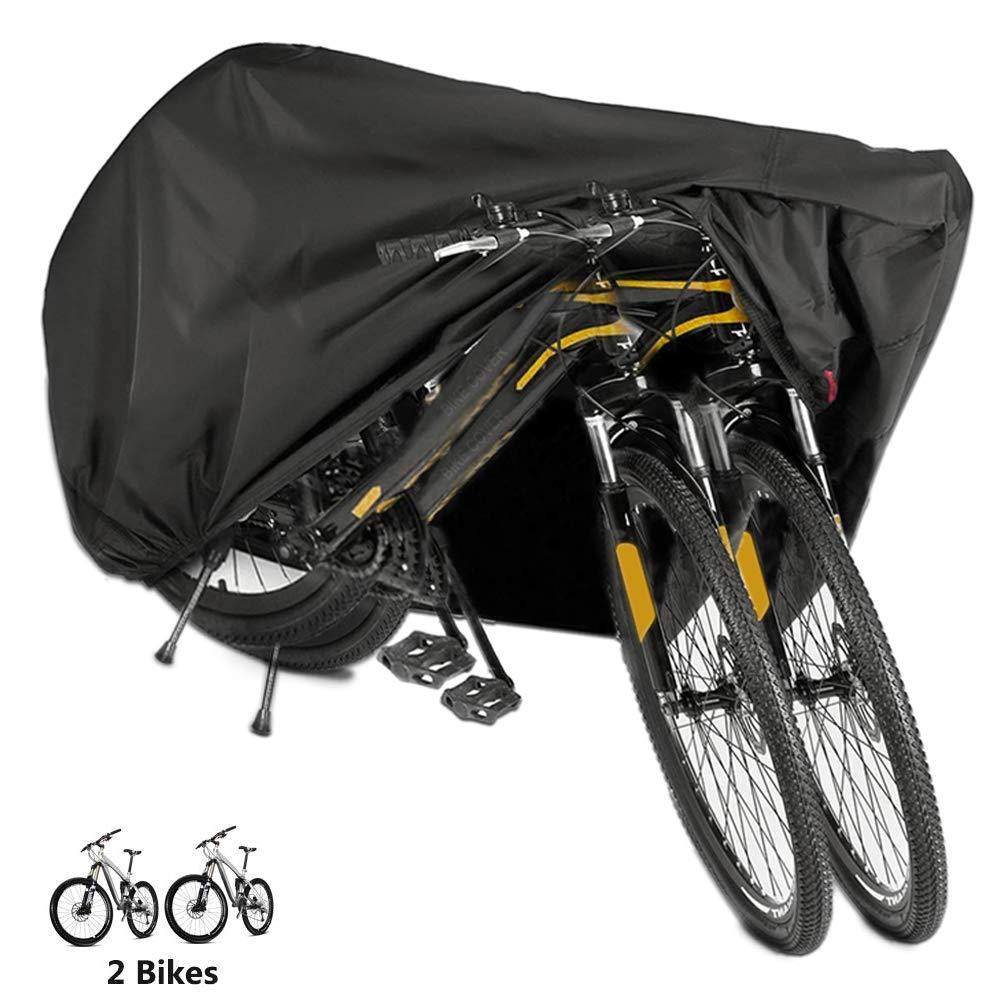 8c4e807e318 Funda Bicicleta, EMIUP Nylón 190T Anti Polvo Resistente al Agua a Prueba de  UV Cubierta